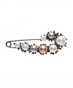 Brosa cu perle Fumuriu - Accesorii - Accesorii / Brose
