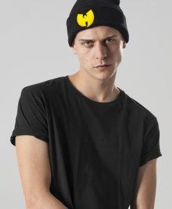 Caciula Beanie Wu-Wear Logo negru - Caciuli beanie - Urban Classics>Accesorii>Caciuli beanie
