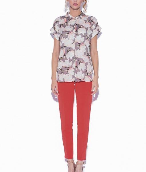 Camasa cu trandafiri Imprimeu roz – Imbracaminte – Imbracaminte / Camasi