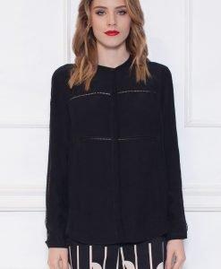Camasa neagra cu maneci despicate Negru - Imbracaminte - Imbracaminte / Camasi
