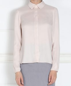 Camasa roze cu nasturi ascunsi Crem/Rozé - Imbracaminte - Imbracaminte / Camasi