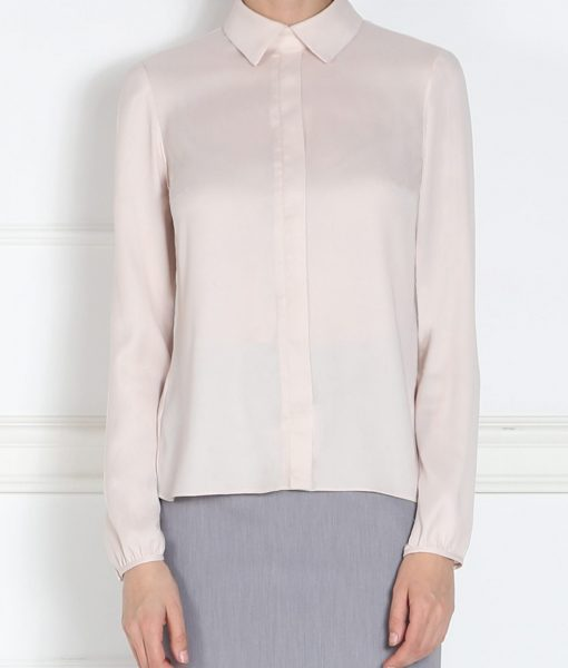 Camasa roze cu nasturi ascunsi Crem/Rozé – Imbracaminte – Imbracaminte / Camasi