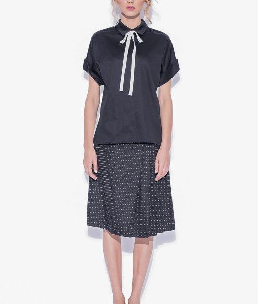 Camasa versatila cu croiala moderna Negru – Imbracaminte – Imbracaminte / Camasi