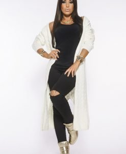 Cardigan MissQ Fall Filter Nude - Pulovere -