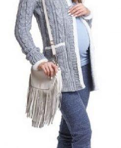 Cardigan Nordic Grey - Produse > Haine pentru gravide > Jachete/ Geci/ Pulovere -