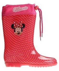 Cizme copii Minnie Mouse rosii cu buline albe - Incaltaminte Copii - Cizme Copii