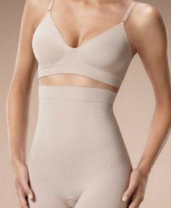 Colanți postpartum Plie bej - Produse > Modelare după sarcină -