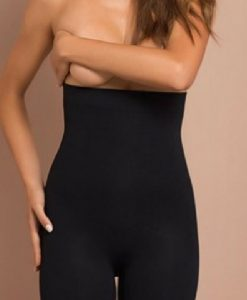 Colanți postpartum Plie negri - Produse > Modelare după sarcină -