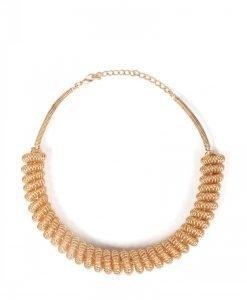 Colier auriu cu spirala Auriu - Accesorii - Accesorii / Coliere