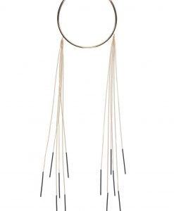 Colier elegant cu lanturi Auriu - Accesorii - Accesorii / Coliere