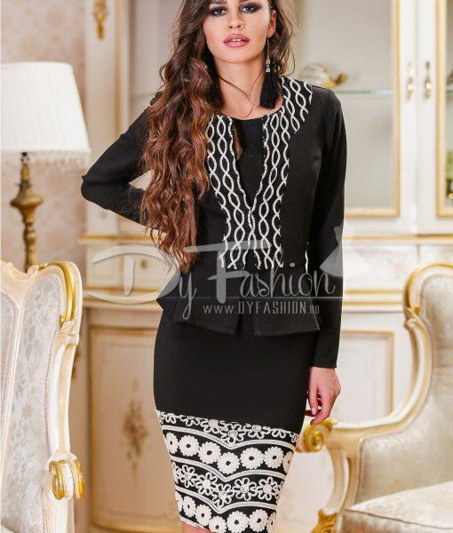Compleu Exquisite Black – ROCHII – Rochii Office