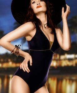 Costum de baie Anika - negru intreg - Costume de baie - Costum de baie intreg clasic