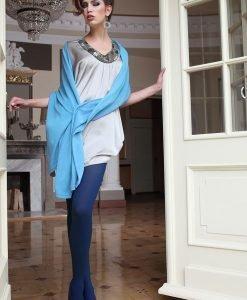 Dres elegant Glamour Soft Blue - Lenjerie pentru femei - Dresuri