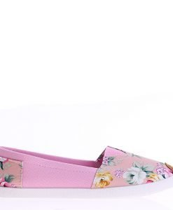 Espadrile dama Alberta rosii - Incaltaminte Dama - Espadrile Dama