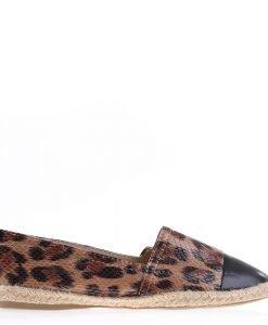 Espadrile dama D201 leopard - Incaltaminte Dama - Espadrile Dama