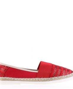 Espadrile dama Stanton rosii - Incaltaminte Dama - Espadrile Dama