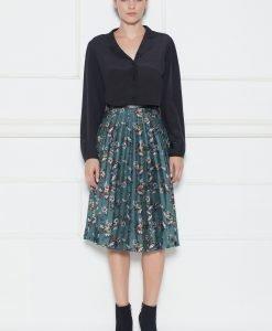 Fusta plisata cu print floral Imprimat - Imbracaminte - Imbracaminte / Fuste
