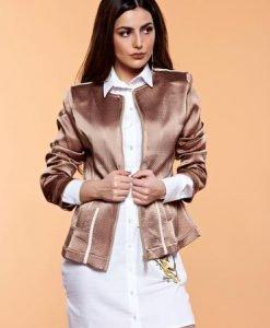 Geaca MissQ Perfect Fit Brown - Geci -