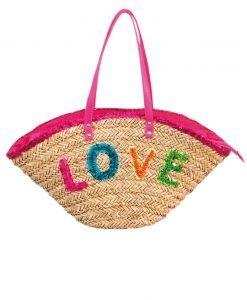 Geanta plaja Funtext Love - Costume de baie - Accesorii de baie
