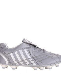 Ghete fotbal unisex Shane gri cu argintiu - Incaltaminte Copii - Pantofi Sport Copii