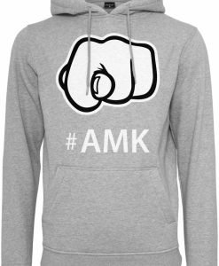 Hanorac AMK deschis-gri Mister Tee - Hanorace cu mesaje - Mister Tee>Regular>Hanorace cu mesaje