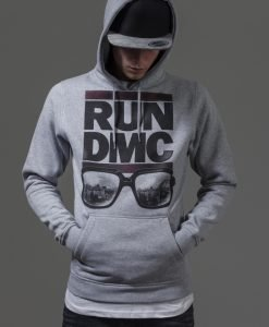 Hanorac RUN DMC City Glasses deschis-gri Mister Tee - Hanorace cu trupe - Mister Tee>Trupe>Hanorace cu trupe