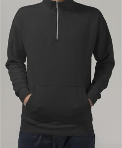 Hanorac cool Troyer negru Urban Classics - Bluze cu guler rotund - Urban Classics>Barbati>Bluze cu guler rotund
