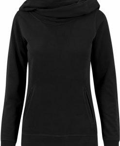 Hanorac cu guler inalt pentru Femei negru Urban Classics - Hanorace urban - Urban Classics>Femei>Hanorace urban