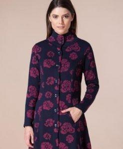 Jacheta bleumarin din tricot 4359 - Jachete -