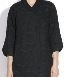 Jacheta lejera realizata din tesatura texturata Negru - Imbracaminte - Imbracaminte / Jachete si cardigane / Jachete