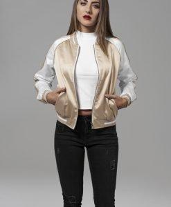 Jacheta trei culori Souvenir pentru Femei auriu-alb murdar Urban Classics - Geci subtiri - Urban Classics>Femei>Geci subtiri