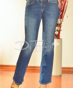 Jeans Dama Eliza Evazati - Haine - Blugi/Pantaloni