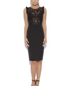 Little black dress cu bust din dantela Negru - Imbracaminte - Imbracaminte / Rochii de seara