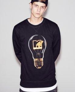 MTV High Energy Crewneck negru Merchcode - Bluze cu trupe - Mister Tee>Trupe>Bluze cu trupe