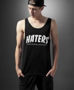 Maiou Haters negru Mister Tee - Maiouri cu mesaje - Mister Tee>Regular>Maiouri cu mesaje