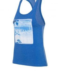 Maiou dama 4F Oceans Blue - Haine si accesorii - Trcouri maiouri