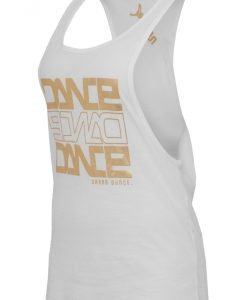 Maiouri fitness bumbac femei Dance alb-auriu Urban Dance - Urban Dance - Urban Dance