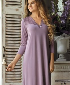 Neglijeu dama Morgana Lavender - Lenjerie pentru femei - Neglijeuri de lux