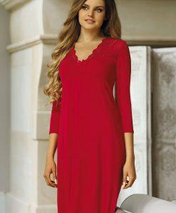 Neglijeu elegant Morgana Ruby - Lenjerie pentru femei - Neglijeuri de lux