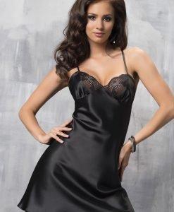 Neglijeu satinat de lux Sharon - Lenjerie pentru femei - Neglijeuri de lux