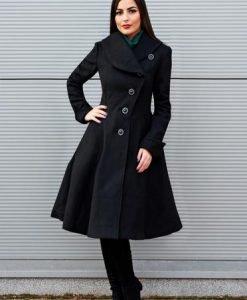 Palton Artista Cold Season Black - Paltoane -
