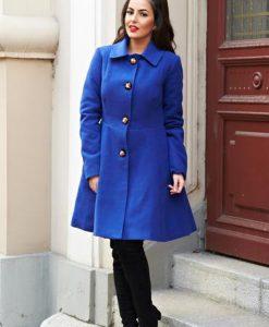 Palton Artista Magic Moment Blue - Paltoane -