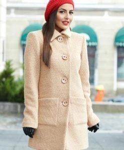Palton LaDonna Best Emotion Cream - Paltoane -