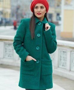 Palton LaDonna Best Emotion Green - Paltoane -