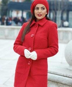 Palton LaDonna Best Emotion Red - Paltoane -