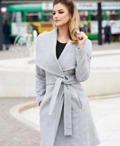 Palton LaDonna Fashion Addict Grey - Paltoane -
