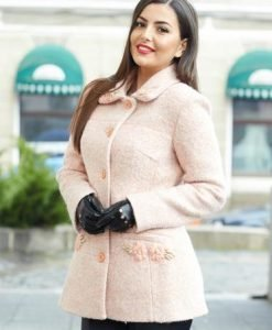Palton LaDonna Lovely Day Peach - Paltoane -