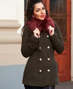 Palton LaDonna Stylish Season DarkGreen - Paltoane -