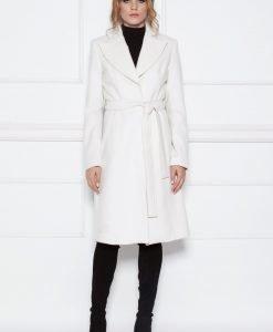 Palton clasic elegant Crem - Imbracaminte - Imbracaminte / Paltoane