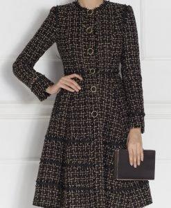 Palton forma A Negru - Imbracaminte - Imbracaminte / Paltoane
